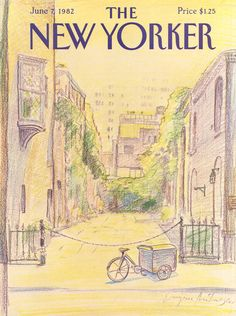 The New Yorker - Monday, June 7, 1982 - Issue # 2990 - Vol. 58 - N° 16 - Cover by : Eugène Mihaesco