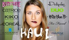 MEGA HAUL OTOÑO: compras de maquillaje y RANDOM catrice KAT VON D essenc...