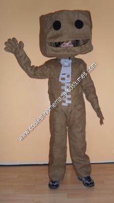 Homemade Sackboy from Little Big Planet Halloween Costume