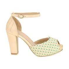 Fashion Women's Sandals With Buckle and Peep Toe Design