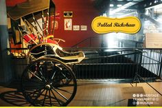 Take a look at 'Pulled Rickshaw', the first ever type of rickshaw crafted in 1887.