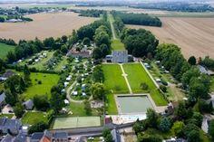 Château de Martragny, camping in Normandy Calvados France. Near D-Day beaches.