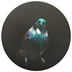 The Cloaked One - by Wellington artist, Jane Crisp. www.imagevault.co.nz