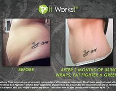 Skinny Wraps 101 Team | BEFORE & AFTER Fat Fighter and Wraps work AMAZING together!