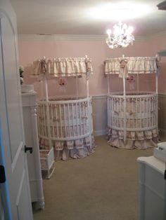 Twin Nursery for My Little Angels
