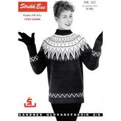 Finmark - Frisk Frisk, Retro, Knitting, Sweaters, Fashion, Tricot, Fashion Styles, Sweater, Stricken