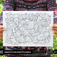 I opened my Etsy shop recently. Right now there's one listing at an introductory price for a limited time (60 Faces/Expressions Printables). Will be adding more printables after some time.  Made this printable coloring page to thank my initial customers :) Will send this via Etsy conversation once order is completed.  http://www.etsy.com/shop/piccandle