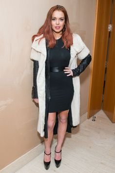 Hot Or Not? Lindsay Lohan's Weather-Confused Outfit #hotornot #celeb #lindsaylohan http://buzznet.com/~65b207e