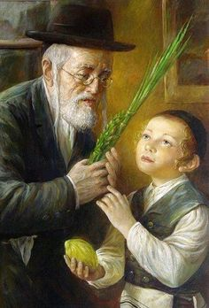 Jewish paintings. Jewish man, Jewish art, painting, Jewish culture, Jesish holiday