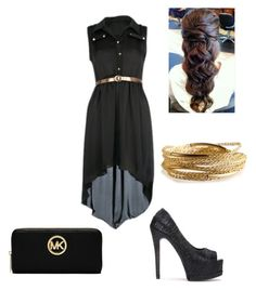 """""""Unbenannt #32"""" by katjag596 ❤ liked on Polyvore featuring MICHAEL Michael Kors and YooLa"""