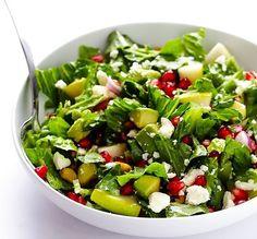 Colorata si cu o combinatie de ingrediente indrazneata, aceasta salata iti va surprinde papilele gustative.