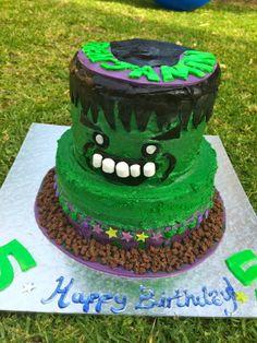 My Hulk Cake
