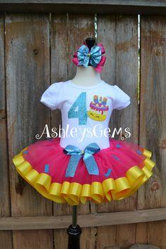 Shopkins Dress Shopkins Birthday Outfit by AshleysGemsShop on Etsy Shopkins Tutu, Shopkins Outfit, Shopkins Birthday Cake, Shopkins Clothes, Birthday Parties, Birthday Outfits, 7th Birthday, Birthday Ideas, Elastic Headbands