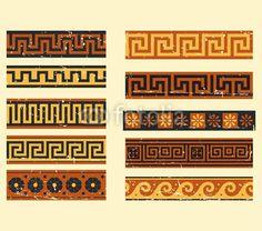 Greek Geometric Patterns Ancient Greek Patterns