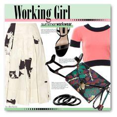 Summer Workwear by beebeely-look