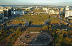Aerial Views of Brasilia