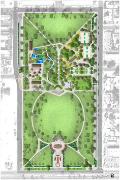 Free Wallpaper World: Park Plan Design Park Landscape, Landscape Plans, Urban Landscape, Landscape Architecture, Landscape Design, Landscape Drawings, Landscape Pictures, Landscapes, Landscaping Around Deck