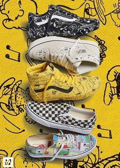 follow me @cushite Charlie Brown x Vans