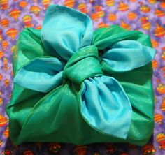 Fabric wrapping is known as Furoshiki in Japan and Bojagi in Korea.