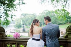 Wedding in Central Park, New York City - Kelly Elizabeth Style