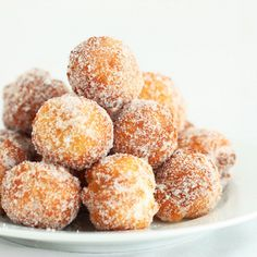 Donuts made from scratch in 15 minutes! So easy and delicious, this recipe is a definite keeper!