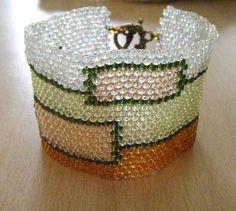 Rectangles- Bead weaving