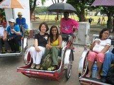 Bicycle transportation. Kuala Lumpur, Malaysia.