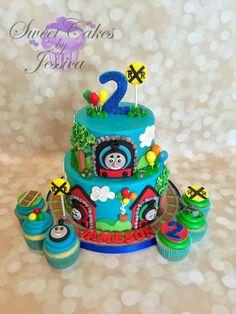 Pitas cake's Train Cakes, Thomas The Tank