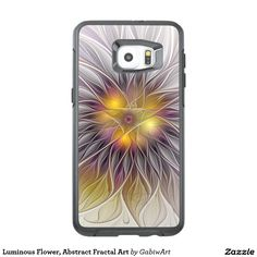Luminous Flower, Abstract Fractal Art OtterBox Samsung Galaxy S6 Edge Plus Case