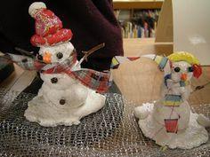 Celluclay Snowmen