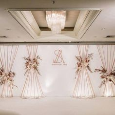55 Ideas For Wedding Decorations Stage Photo Backdrops Wedding Backdrop Design, Wedding Stage Design, Wedding Hall Decorations, Wedding Reception Backdrop, Backdrop Decorations, Ceremony Backdrop, Wedding Designs, Wedding Backdrops, Wedding Mandap