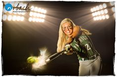 Softball Senior Photo