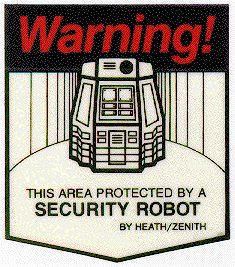HERO Jr Warning sticker
