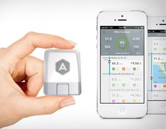 Automatic Link: a dongle and an iPhone app for your car usage.
