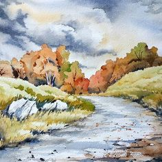Hello from rainy Maryland. Trees with all warm colors look so beautiful now. I like Autumn because temperature outside is just right, not too hot not too cold. #artwork #waterblog #watercolorpainting #watercolorlandscape #watercolorillustration #negativepainting #winsorandnewton #watercolorblog #cartel_watercolorists #top_watercolor #akwarela #aquarelle #archespapers #archespaper #watercolor_gallery #inspiring_watercolors #inspiringart #watercolour #artmagazine #winsonandnewton…