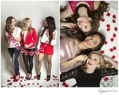 Image result for valentines themed senior shoot
