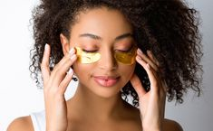 Gold Skin, Gold Face, Gold Eyes, Gold Eye Mask, Best Acne Products, Collagen Powder, Beauty Junkie, Tinted Moisturizer, Beauty Shop