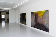 Painting processes @ wip konsthall, 2015
