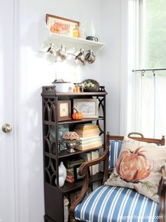 Vintage style fall home tour