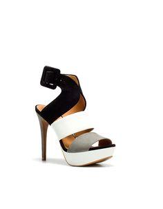 Wide Strap Sandal - ZARA
