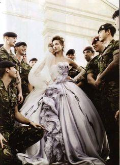 Vogue wedding dresses
