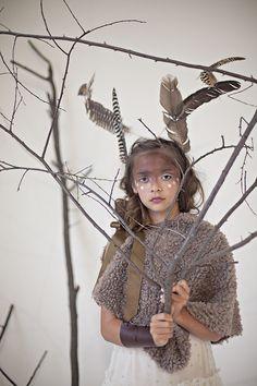 Babiekins Magazine  Featurekins//Conceptual Deer Costume by Julie Martin