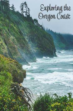 Exploring the Oregon coast (USA). Things to do on the Oregon coast. Thor's Well Cape Perpetua. Oregon Coast Roadtrip, Southern Oregon Coast, Oregon Beaches, Oregon Road Trip, Oregon Travel, Road Trips, Brookings Oregon, Florence Oregon, Newport Oregon