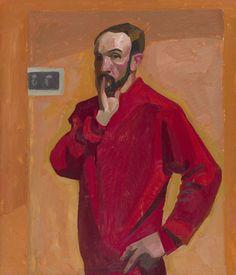 Viktor Popkov - Self-Portrait, 1963