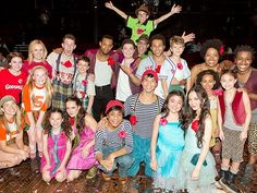 The 2032 cast of GODSPELL meets the current cast of GODSPELL!