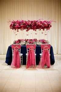Wedding Inspirations: Navy and Magenta Wedding