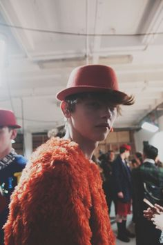 Backstage at Kit Neale AW15