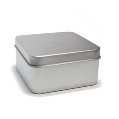 Kovová krabička k dalšímu dotvoření