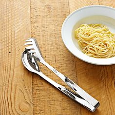 All-Clad Stainless-Steel Professional Pasta Tongs - $35
