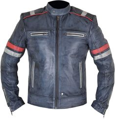 The Retro Style Jacket is one of the famous and ever green design among motor bikers. It's a combination of satisfaction with class in a trendy manner. Riders Jacket, Motorcycle Jacket, Classic Leather, Real Leather, Collar And Cuff, Bikers, Retro Style, Retro Fashion, Avengers